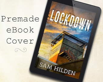 SALE! Pre-made eBook Cover Design - Suspense, Thriller, Mystery