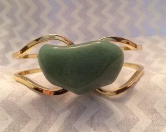 Soft Green Amazonite Bracelet