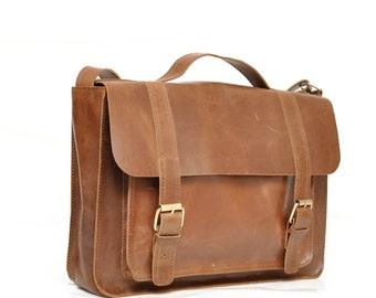 leather briefcase bag laptop bag  brown  leather side bags leather Messenger bag Leather satchel bag leather laptop bag leather courier bag