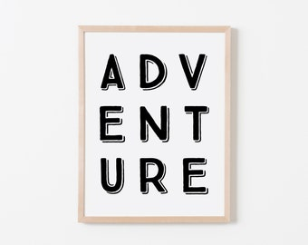 True North 3D Adventure Art. Nursery Wall Art. Nursery Prints. Boy Wall Art. Adventure Nursery. Adventure Art. Explorer Nursery.