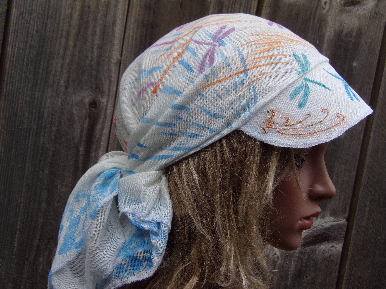 Head Scarf With Visor Cloth Bandanna Hair Scarf Fitness # Muebles Bandama