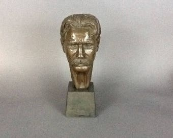 1955 Sculpture of Albert Schweitzer by Leo Cherne
