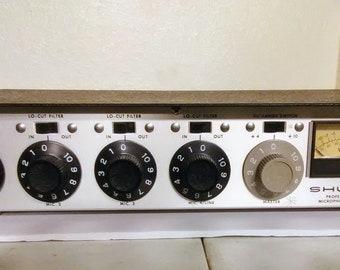 Vintage Shure M67 4-Channel Professional Microphone Mixer