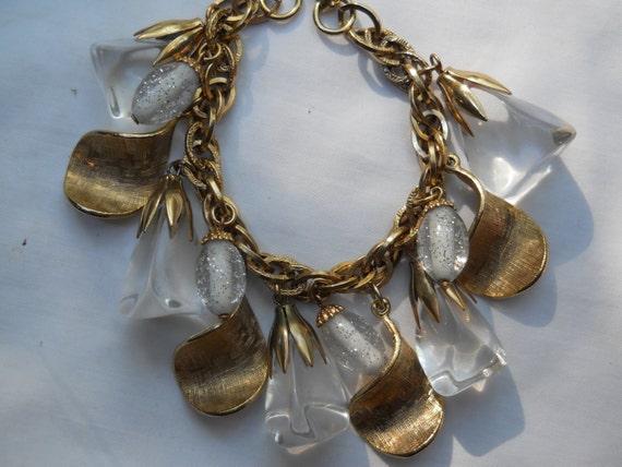 Vintage Lucite bracelet-Bracelets