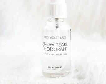 Deodorant Spray   Deodorant with Zechstein magnesium   100% natural and vegan - TRAVEL SIZE