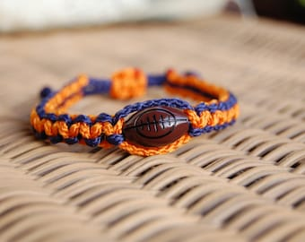 Trendy FOOTBALL Bracelet / Trendy Football Mom / FOOTBALL / Girls / Boys / Football Team / Gift Exchange / Goody Bag / Sports Jewelry /