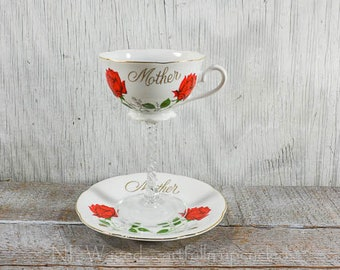 Tea cup wine glass, teacup wine glass, mothers day gift, mothers wine glass, unique wine glass, cottage chic, repurposed, upcycled