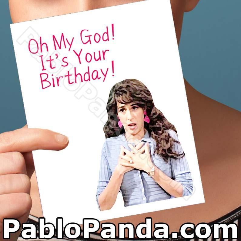 Funny birthday card friends tv show boyfriend bday card zoom bookmarktalkfo Choice Image