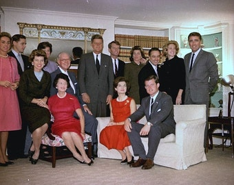 John F. Kennedy, Kennedy family poses after the election of John F. Kennedy # 2