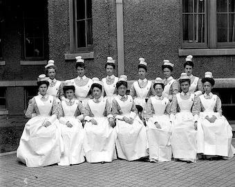 Providence Hospital Nurses 1900's Photo