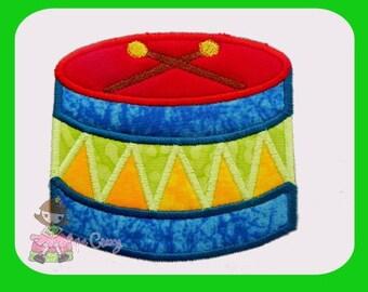 Drum Applique design