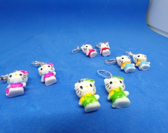 Beautiful kids cat earrings