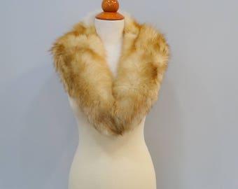 Large Fox Fur Collar F699