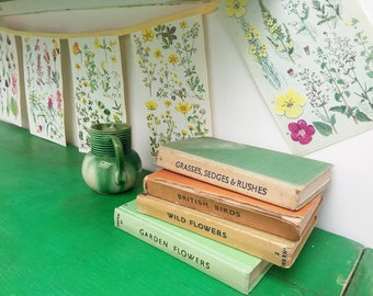 Pretty vintage floral paper bunting