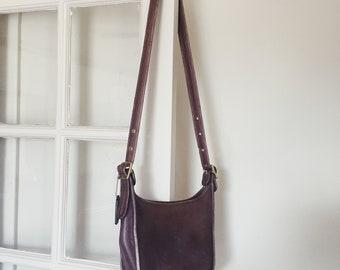 Vintage coach crossbody purse   coach bag   brown coach purse   Able Shoppe   coach handbag   coach purse
