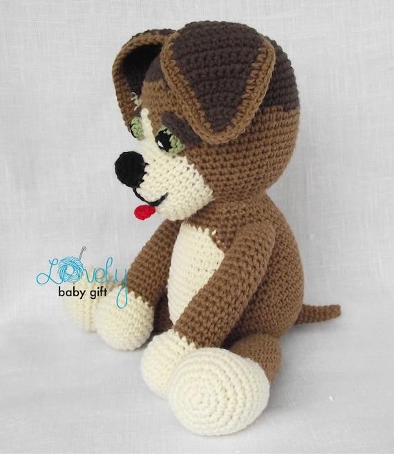 Amigurumi Pattern Crochet Puppy Crochet Pattern Amigurumi Dog