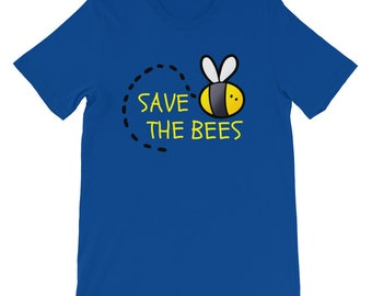 Save The Bees, Bees Shirt, Bees Tee, Honeybees, Honey Bees, Save The Bees Shirt, Bee Clothing, Bee Shirt, Nature Lover, Bee Gifts, Beekeeper