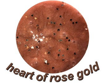 Heart Of Rose Gold
