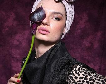 turban, fashion turban, turban headband women,cancer head wrap, head wraps ready made, headbands for chemo patients, cancer hat