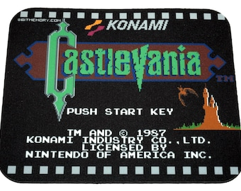 NES Mouse Pad - Castlevania