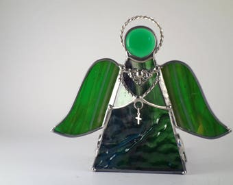 Angel Votive Candle Holder