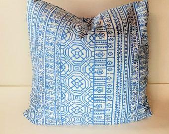 Cobalt Blue Pillow Cover, Throw Pillow Cover Decorative Pillow Cushion Covers Premier  Blue on White Bird Silhouette Fynn Susette Cobalt