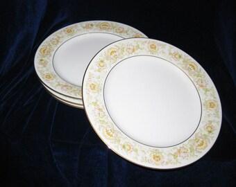 Noritake May Garden Salad Plates Pattern #2355 (4)