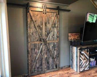 Rustic Standar Bi Parting Barn Doors