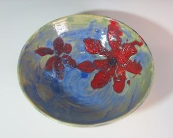 Blooming beautiful! Ceramic porcelain wheel thrown pottery