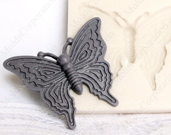 Butterfly mold, Silicone mold, Pendant mold, Scrapbooking mold, Resin mold, Polymer clay mold, Jewelry mold, Food safe mold DIY М174 2.6/4.2