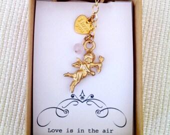 Love keychain etsy love keychain cupid keychain couple gift love forevergirlfriend gift boyfriend negle Gallery