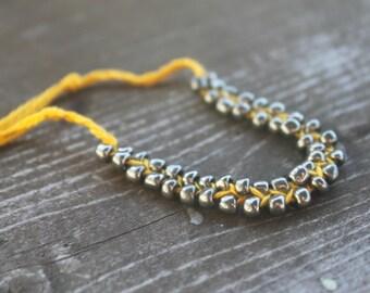 Handmade Boho/Bohemian/Hippie Beaded Braid Tie On Friendship Bracelet