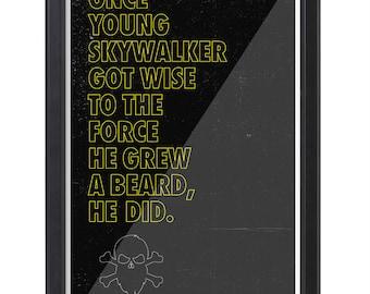 AMERICAN BEARDS Poster - Skywalker