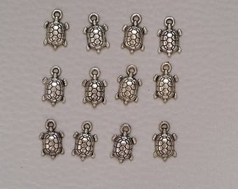 Turtle charms (set of 12)