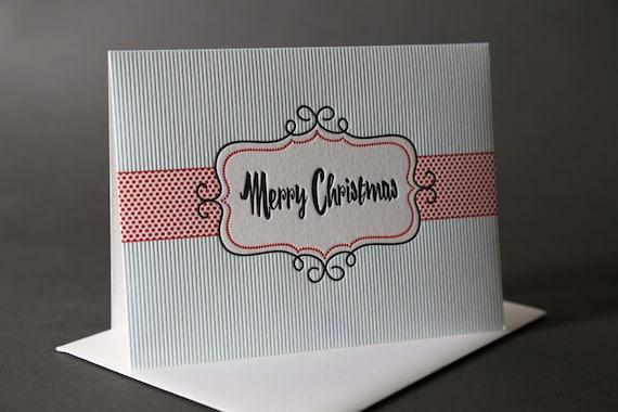 """Retro Frame """"Merry Christmas"""""""