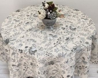 French Tablecloth, Provence Tablecloth, French Country Tablecloth