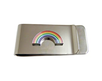 Rainbow Money Clip