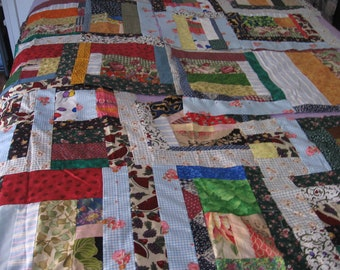 Quilt, pieced sections, sewing, supplies, fabric,yardage, material, pillows (6 pieced sections)