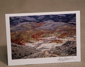 Painted Hills Notecard