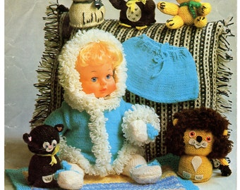 bits and bobs toys and stuff dk and 4 ply knitting pattern 99p pdf