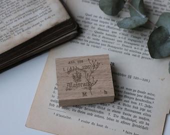 Wood Stamp Herbes 5! unassembled