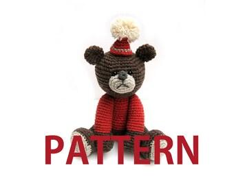 Amigurumi Crochet Pattern-Bear