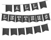 Chalkboard Banner with AL...