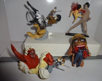 Mister A Gift Rare Anime Attack On Titan set of 4 plastic Cake Toppers