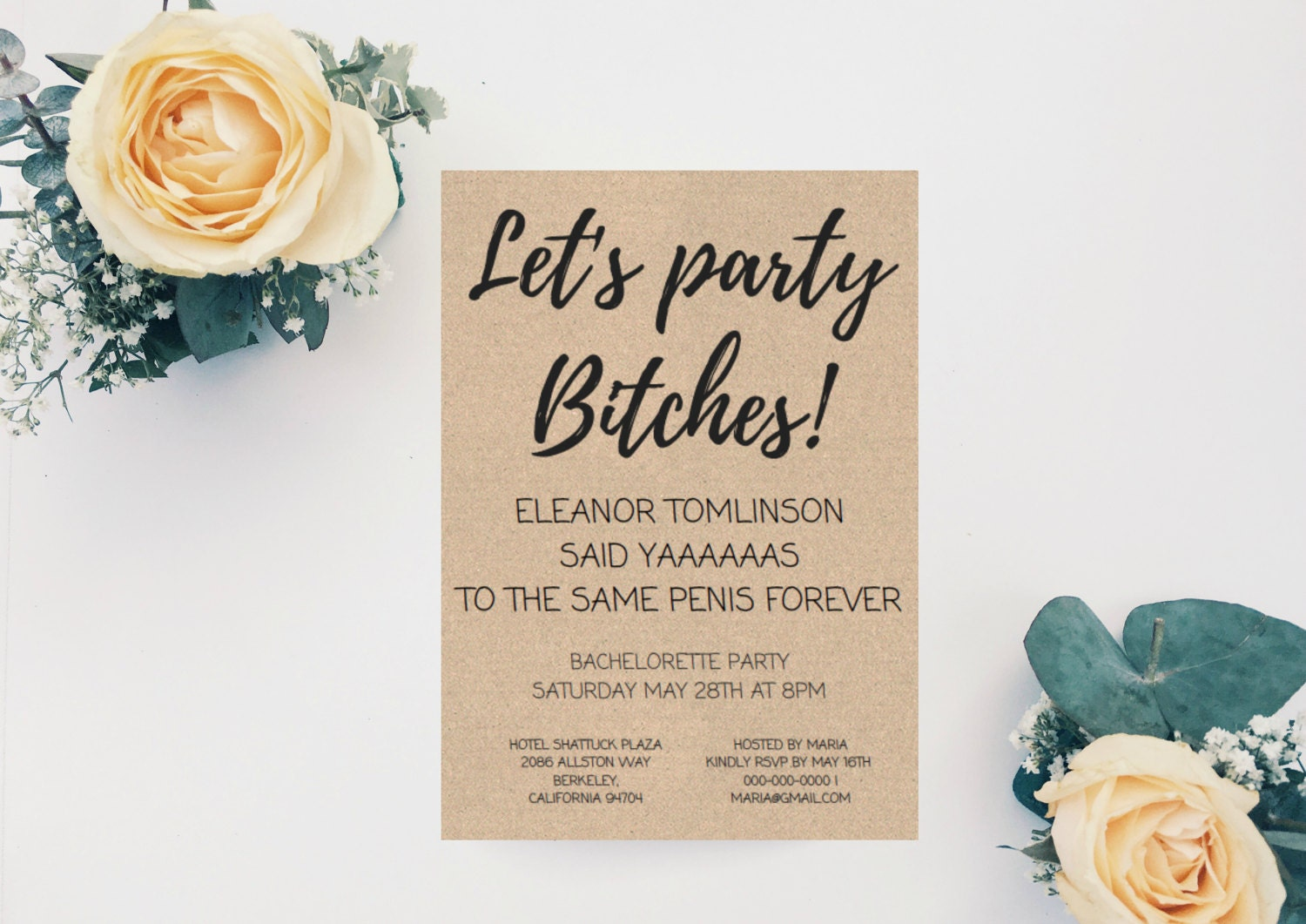 Bachelorette party invitation fun and naughty bachelorette zoom monicamarmolfo Image collections