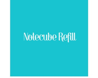 Refill for note cube