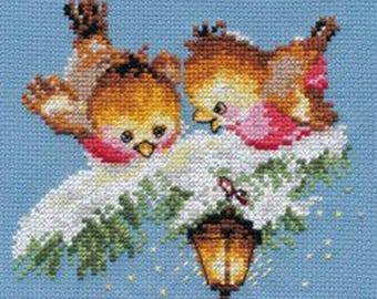 Cross Stitch Kit beginner  Children / Christmas