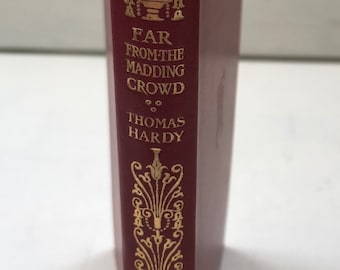 Far From The Madding Crowd by Thomas Hardy 1952 Macmillan and co