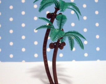 6 Palm Cupcake Toppers