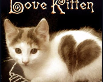 Black Cat's Love Kitten - Private Edition - Handcrafted Perfume - Love Potion Magickal Perfumerie